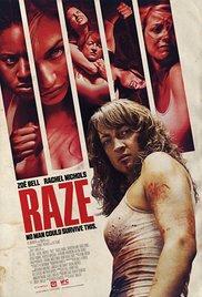 Raze - poster