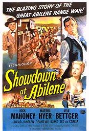 Obračun u Abileneu - poster