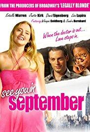 Vidimo se u septembru - poster