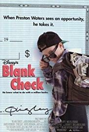 Neispisani ček - poster