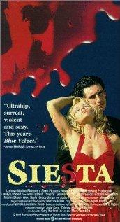 Siesta - poster