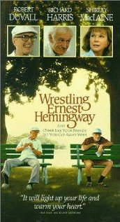 Hrvanje s Hemingwayjem - poster