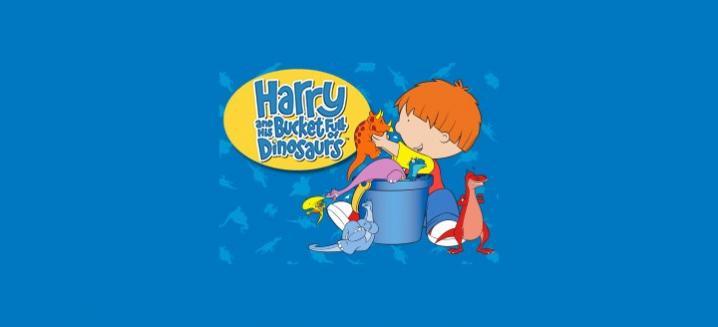 Harry i kanta puna dinosaura