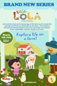 Little Lola Visits the Farm - poster