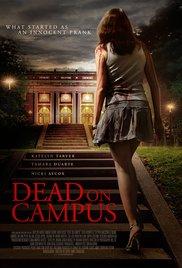 Smrt na kampusu - poster
