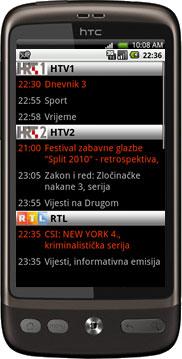 TVDroid trenutno