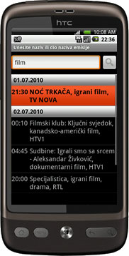TVDroid tv program
